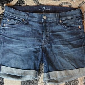 Seven For All Mankind Denim Shorts